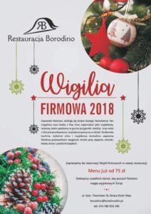 Wigilia Firmowa 2018