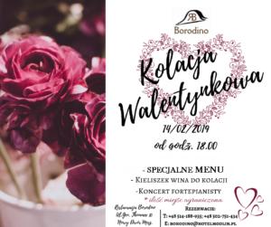 Read more about the article Kolacja Walentynkowa w Restauracji Borodino